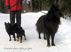 Mona, Mila ja Bella 23.2.2006