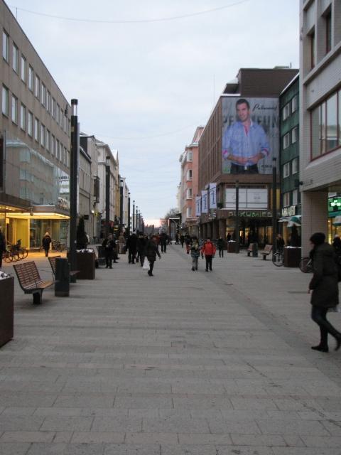 Rotuaari kävelykatu, Oulu