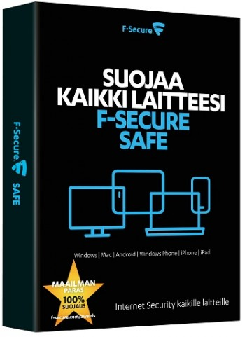 F-SECURE SAFE (2YEARS 5 DEVICES), E-KEY | - Rakennusautomaatio ja tietotekniikka