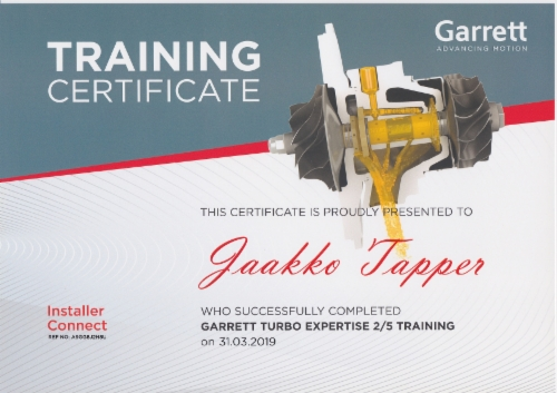Jaakko_Tapper_Garrett_certificat_25_Training.jpeg