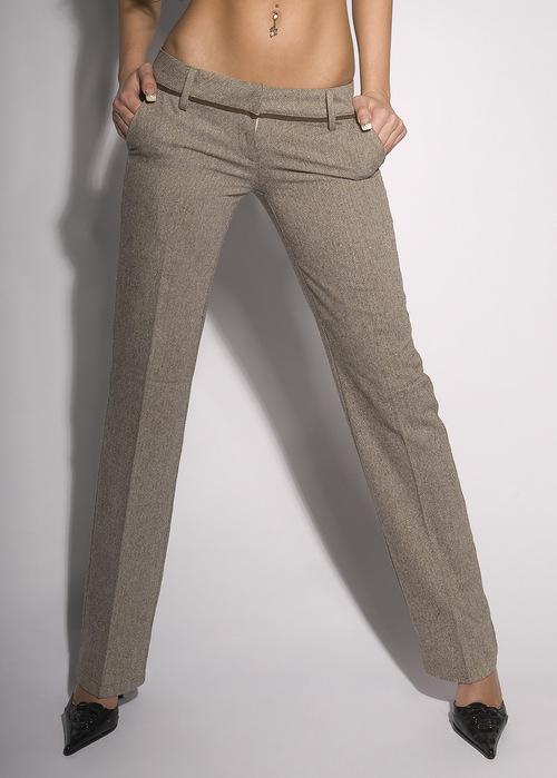 Naisten suorat housut