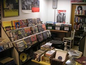 Stardust Records - vinyylihyllyt