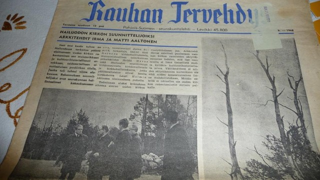 4.12. Rauhan Tervehdys vuodelta 1968