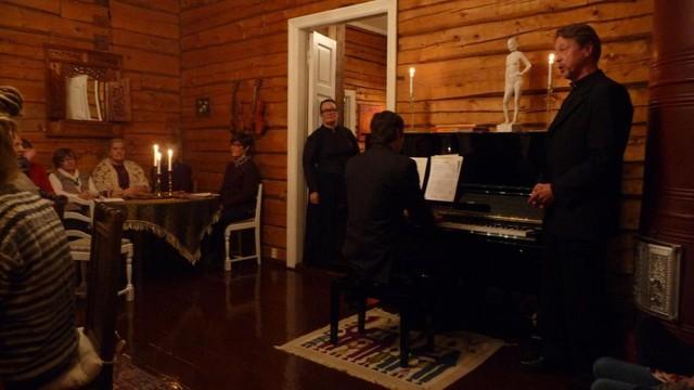 7.12. Pappilassa nautittiin musiikista
