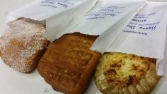 Possumunkki, liha- ja riisipiirakka