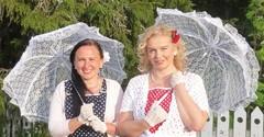Outi ja Hannele Limingassa