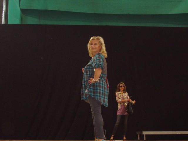 Mallina Suurmessujen Muotinäytöksessä Oulussa 2010