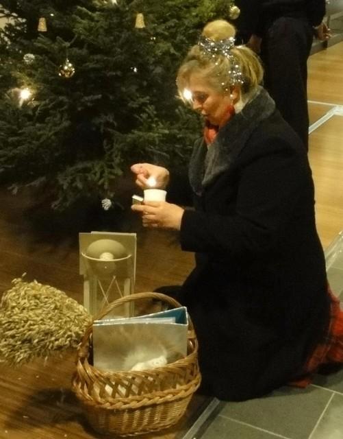 Jouluemäntä Rokualla jouluna 2011