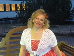 Hannele Kunnonpaikassa Siilinjärvellä 28.4.2012