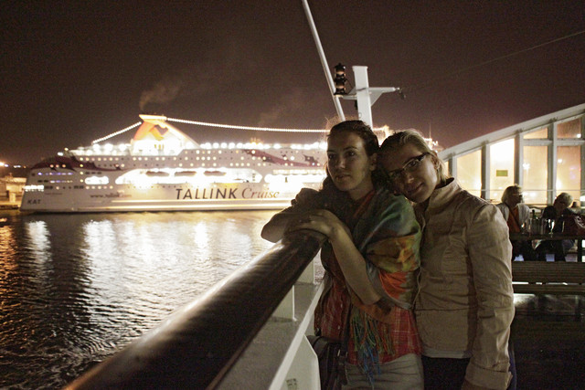 fi, hki, viking line ferry in tallinn harbour, lila and eni, 20110821. photo hannu sinisalo (6)