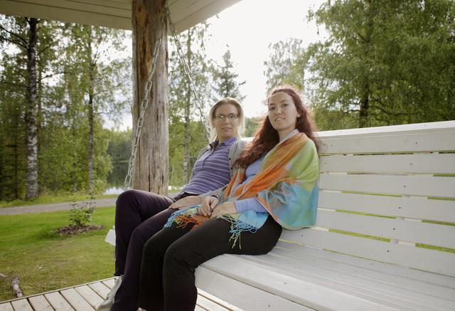 fi, juupajoki, hyytiala university,  eni and lila, 20110811. photo hannu sinisalo.  (17)