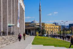 tirana_skenderbeg_square_opera_and_mosque._photo__hannu_sinisalo