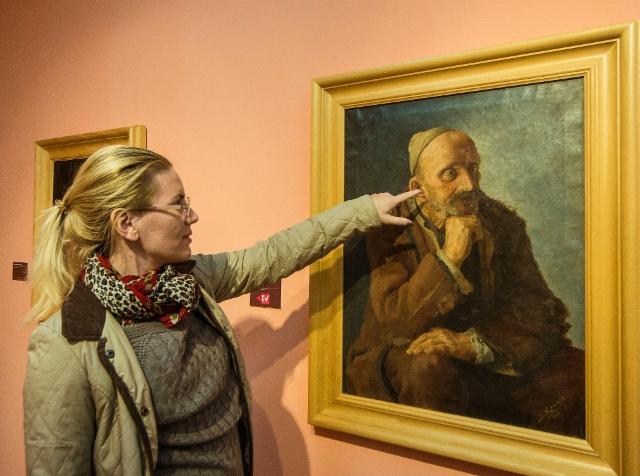 19._2nd_november_2017_tirana_national_art_gallery_sadik_kaceli_fshatari_talonpoika_1933_and_eni
