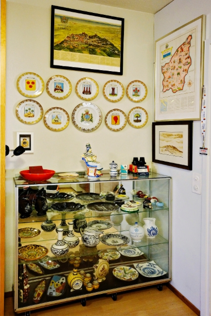 0001. My RSM-ceramica collection corner, 2019