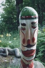 Hovimestari, kesänäyttelyssä Pieksämäen Iso-Pappilassa 2004