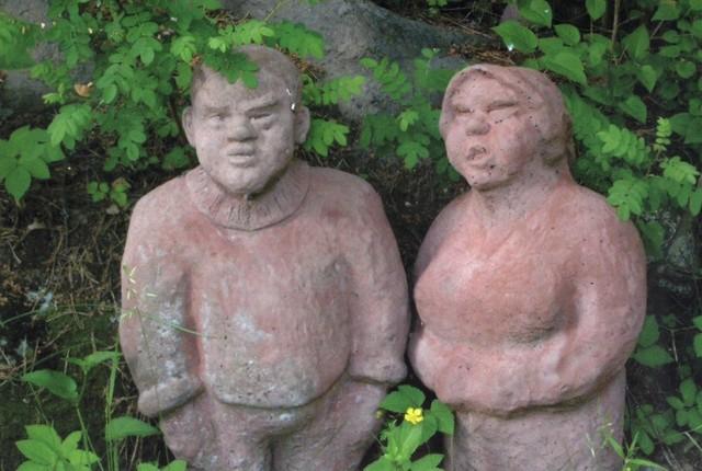 Isäntä ja emäntä, betoni