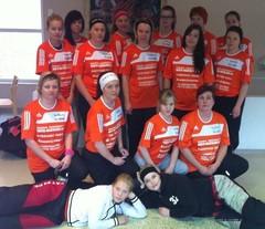 HauSBandyn naisten joukkue 17.11.2012