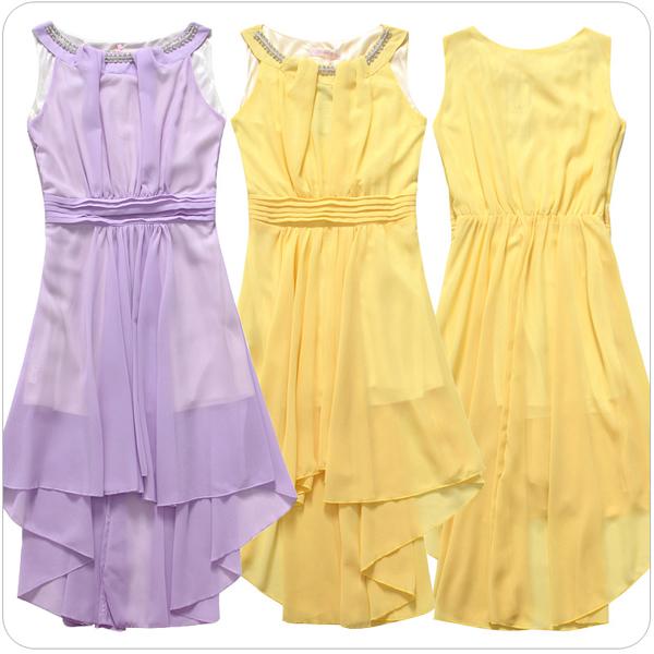 Naisten Käsilaukkuja : Keltainen juhlamekko naisten vaatteet netist? heidi