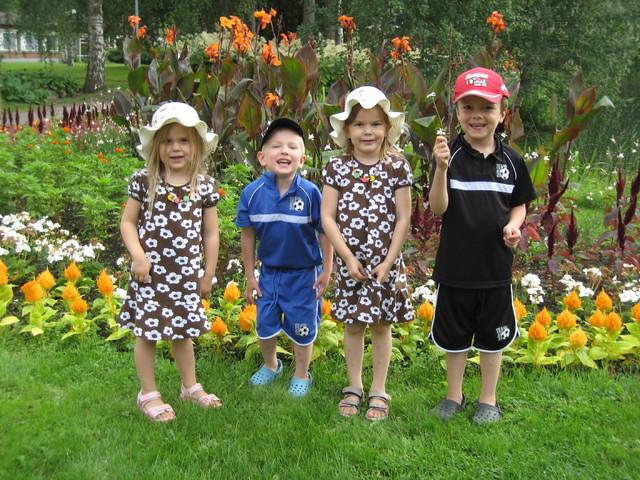 Kesälapsia 2009