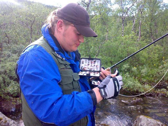 Joona on myös kalamies