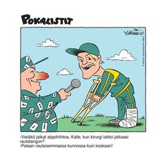 Urheilupilakuva Pokalistit Keski-Uusimaassa 2008-2009