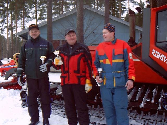 kelkkakisat 21.2.2004 veteraanisarja