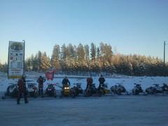 Kelopirtillä Jaalassa 12.1.2013