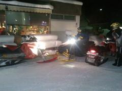 15.2.2012 keskiviikkoillan makkaranpaistosafari, lähtöpaikkana perinteinen Shell Heinola, päämäränä Vuolenkosken laavu