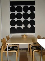 Keittiön pöytä ja tuoleja