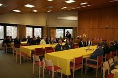 Heinolan Ampujat 50-vuotisjuhlia viettämässä