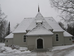 Heinolan Pitäjänkirkko Heinolatalon naapurissa kirkonkylällä