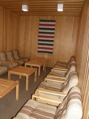 Heinolatalon saunaosastoa