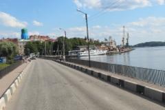 Wiipurin Linnasilta, taustalla Torkkeli Knuutinpojan tori ja matkustajasatama