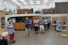 Alvar Aallon kirjastossa Wiipurissa