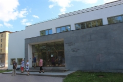Alvar Aallon kirjaston pääsisäänkäynti