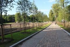 Monrepon puistoa