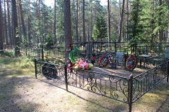 Hautausmaa Sakkolassa
