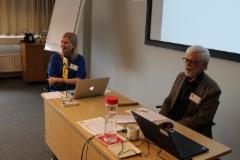 3._kokouksen_sihteeri_liisa_ja_puheenjohtaja_jorma