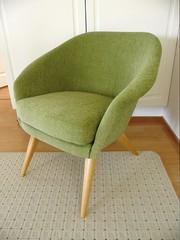 Nojatuoli 60-luvulta