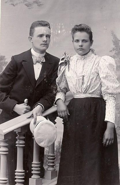 hannes ja helma hellman 1898