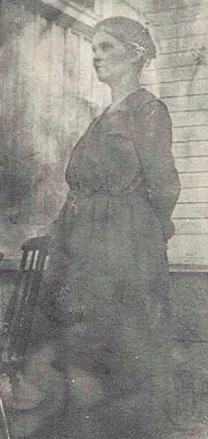 helma piha n. 1926, odotti ensimmaista tytartaan