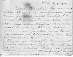 kortti 1918 teksti