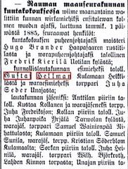rauman lehti 22.11.1884