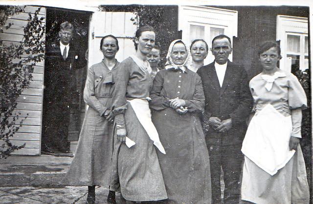 Hilma ja Esko Yrjäsen häät 1933
