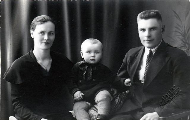 anni ja veikko nakola 1936