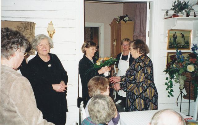 sylvi kartano 85-v 14.1.2001
