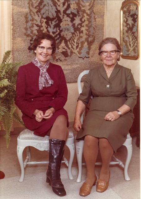 tyyni (pik) ja lahja helkio lauttakylasta 1970