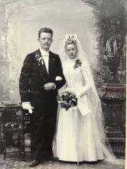 Hannes ja Bertha Helomaan hääkuva