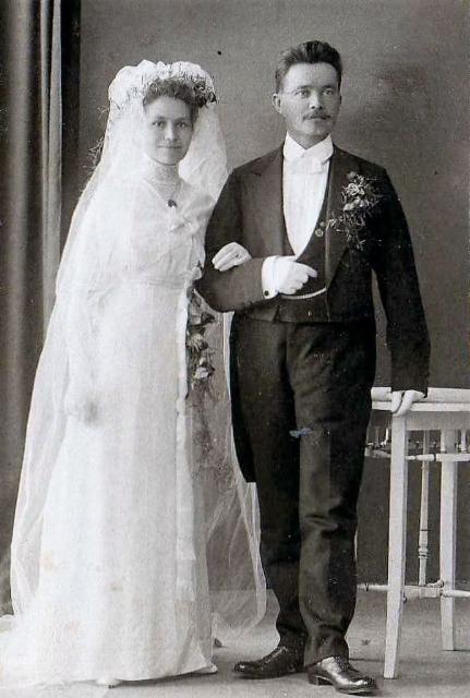 Onni_Helkiö ja Hilja Hätinen 18.8. 1912 Helsingissä