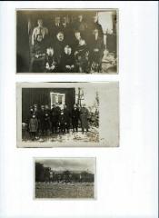 Mattilan tuvassa ja pihalla jouluna 1928